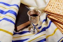 Matzoh jewish passover bread torah. Passover jewish matzoh bread holiday matzoth celebration Royalty Free Stock Photography