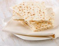 Matzoh - jewish passover bread Royalty Free Stock Image
