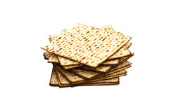 matzoh (żydowski passover chleb) Fotografia Stock