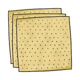 Matzos illustration Royalty Free Stock Photos