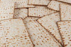 Matzot Close-up Royalty Free Stock Images