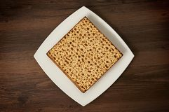 Matzot  on the table Stock Images