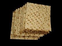 Matzoth (osyrat bröd) Arkivfoton