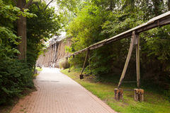 Mau histórico Kosen do sistema de transmissão de energia Fotos de Stock
