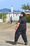 Mau Rakau - Kampfkunst Lizenzfreie Stockfotos