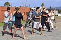 Mau Rakau - Martial Art Royalty Free Stock Photography