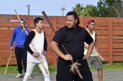 Mau Rakau - Martial Art Royalty Free Stock Image