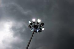 Mau tempo, céu chuvoso Imagem de Stock