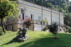 Maua Baron House in Petropolis royalty free stock photos