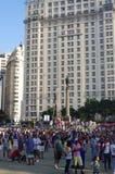 Maua Square in Rio de Janeiro Royalty Free Stock Photo