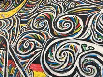 Mauer berlinois Images libres de droits