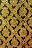 Mauer-Thailand-Muster stockbild