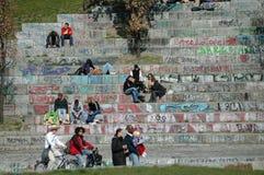 Mauerpark Photographie stock