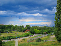 Mauerpark, Berlin Germany Royalty Free Stock Image