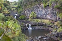Maui συγκεντρώνει ιερά επτά Στοκ φωτογραφίες με δικαίωμα ελεύθερης χρήσης