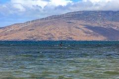 Βουνά δυτικού Maui Στοκ εικόνες με δικαίωμα ελεύθερης χρήσης