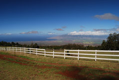 Maui arrière-pays photo stock