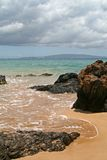Maui Beach. Kamaole I Beach on Maui Royalty Free Stock Photo