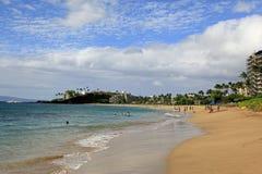 Maui Beach Hawaii. Scenic view in Lahaina, Maui, Hawaii Royalty Free Stock Image