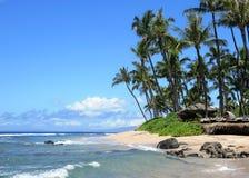Maui beach, Hawaii. Beautiful day to Maui, Hawaii Royalty Free Stock Image