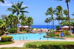 Maui beach resort Royalty Free Stock Photography