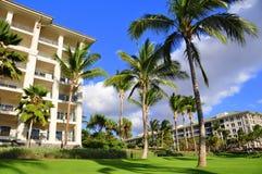 Maui beach resort Stock Photos