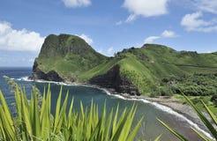 Maui, cabeza de Kahakuloa, Hawaii Fotos de archivo