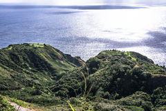 Maui coast along Kahekili highway, Hawaii Royalty Free Stock Photos
