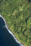 Maui coast with road. Royalty Free Stock Photo