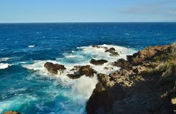 Maui Coastline Royalty Free Stock Photos