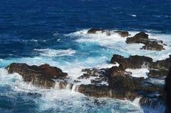 Maui Coastline. Rocky coastline in Maui, Hawaii Royalty Free Stock Photography