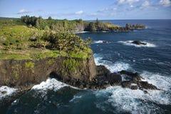 Maui coastline. Stock Photos