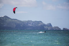 Maui-Drachen-Surfer Stockfoto