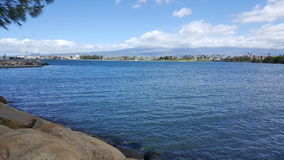 Maui harbor Bay Stock Photography