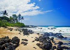Maui, Hawaii. Beautiful day to Maui, Hawaii Stock Photography