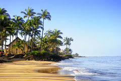 Maui, Hawaii. Beautiful day to Maui, Hawaii Royalty Free Stock Images