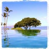 Maui, Hawaii. Infinity pool at Marriot Hotel in Maui, Hawaii Royalty Free Stock Photo