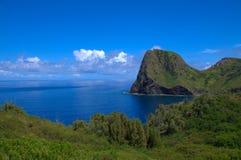 Maui Hawaii sikt av havet Fotografering för Bildbyråer