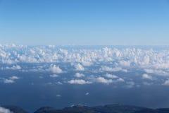 Maui Hawaje Cloudscape Fotografia Stock