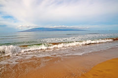 Maui Island in Hawaii, beach, sand, ocean Stock Photography