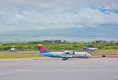Maui kahului airport local flight Stock Photos