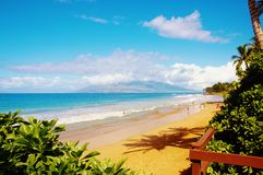 Maui kihei oceanview Stock Photography