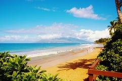 Maui kiheioceanview Arkivbild