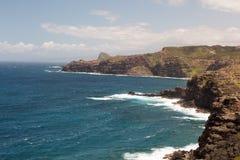 Maui linia brzegowa obrazy royalty free