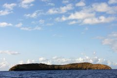 Maui molokini krateru Obrazy Royalty Free
