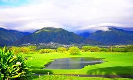 Maui Mountains. View of Mountains in Maui stock photos