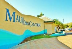 Maui ocean center Stock Photography