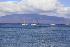 Maui, Hawaii. Scenic view in Lahaina, Maui, Hawaii Stock Photos
