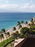 maui plażowy widok Zdjęcie Stock