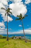 Maui's famous Kaanapali beach resort area Stock Photo